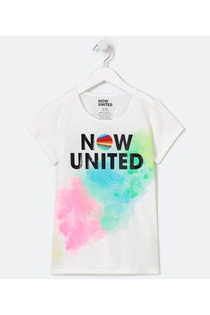 Now United Blusa Infantil Tie Dye com Estampa - Tam 9 a 14 anos | | | 13-14