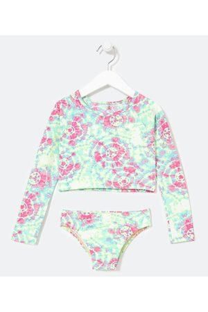Accessories Criança Gravata - Biquíni Cropped Infantil Tie Dye - Tam 5 a 14 anos     Multicores   5-6