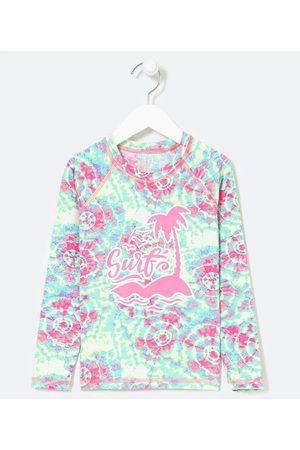 Accessories Blusa Infantil com Proteção UV Tie Dye com Estampa Surf - Tam 5 a 14 anos | | Multicores | 9-10