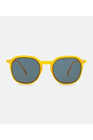 Accessories Homem Óculos de Sol - Óculos de Sol Quadrado em Policarbonato com Encaixe Diferenciado da Lente       U