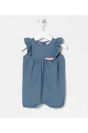 Teddy Boom (0 a 18 meses) Macaquinho Infantil Estampa Poá Neon - Tam 0 a 18 meses | | | 6-9M