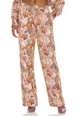Tell Your Friends Pajama Pant in Mauve. - size L (also in XL, XXS)