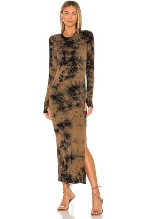 Electric & Rose Robin Maxi Dress in Taupe. - size L (also in M, S, XS)