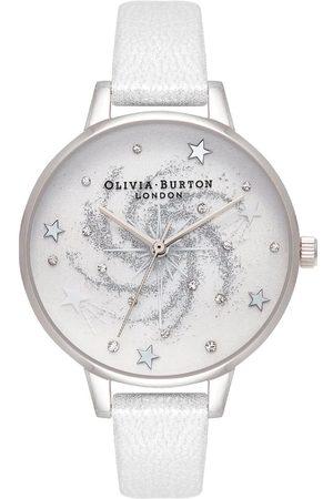 Vivara Mulher Relógios - Relógio Olivia Burton Feminino Couro Pérola OB16GD84