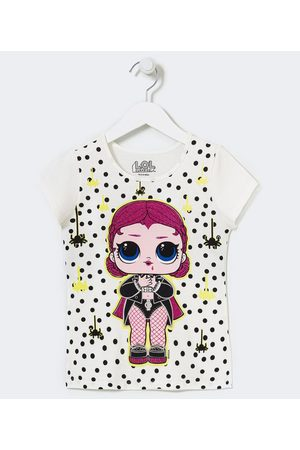 L.O.L. Surprise Criança Camiseta - Blusa Infantil Manga Curta Estampa LOL - Tam 4 a 14 anos       11-12
