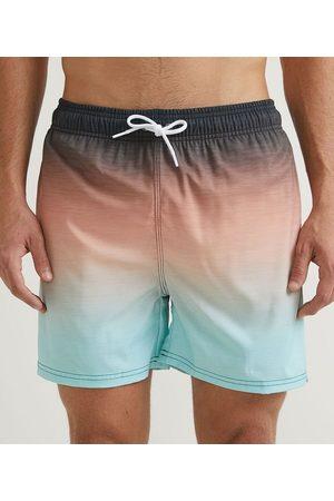 Ripping Homem Short de Banho & Sunga - Bermuda de Banho com Estampa Degradê | | Multicores | G