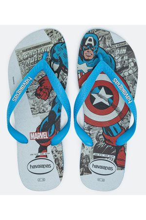 Havaianas Homem Chinelos - Chinelo Top Marvel Classics | | | 39/40