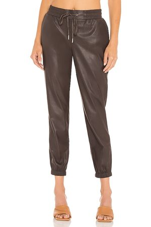 N:philanthropy Scarlett Leather Jogger in . - size L (also in M, S, XS)
