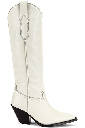 Toral Knee High Boot in White. - size 36 (also in 37, 38, 39, 40)