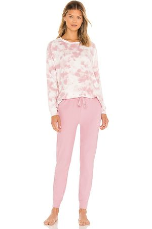 Splendid Westerly PJ Set in Pink. - size L (also in M, S, XS)