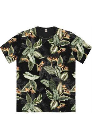 Rovitex Homem Camisa Manga Curta - Camisa Masculina Folhada