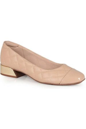 MODARE Sapato Salto Feminino Bloco Quadrado