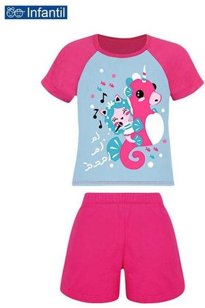 LUPO Pijama Infantil Menina Curto 22337-001 0770-A