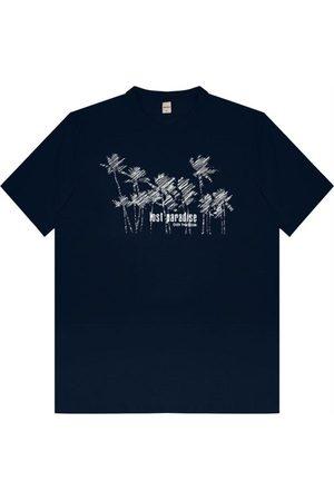 Rovitex Camisa Masculina Estampa Beatch