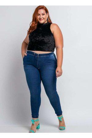 Shyros Calça Jogger Almaria Plus Size Jeans