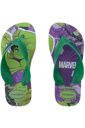 Havaianas Chinelo Infantil Max Marvel Hulk V