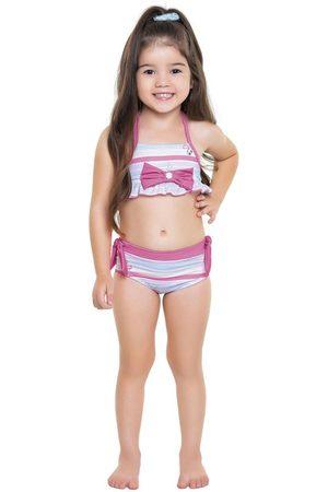 Fakini Kids Biquini Laço Estampado