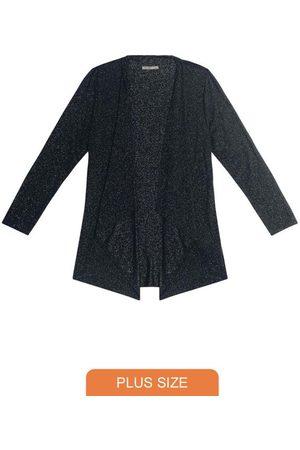 Secret Glam Mulher Cardigã - Cardigan Plus Size