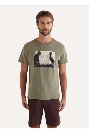 Reserva Homem Camisolas de Manga Curta - Camiseta Estampada Duelo Ii