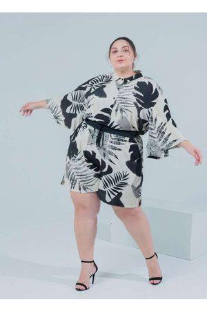 Miss Taylor Camisa Almaria Plus Size Estampado Man