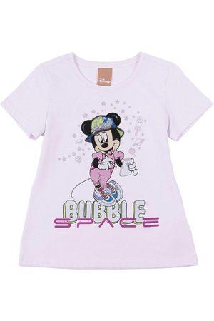 Disney Blusa Feminina Infantil Estampada Lilás