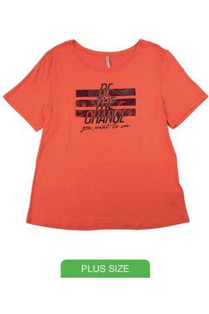 Habana T-Shirt em Viscose Estampa com Fóil