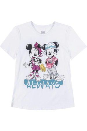 Disney T-Shirt com Estampa Frente e Costas