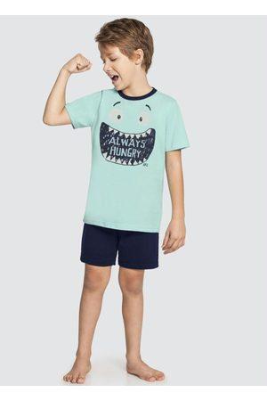 Alakazoo Pijama Meia Malha Penteada