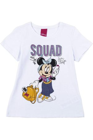 Disney Blusa Manga Curta Estampada
