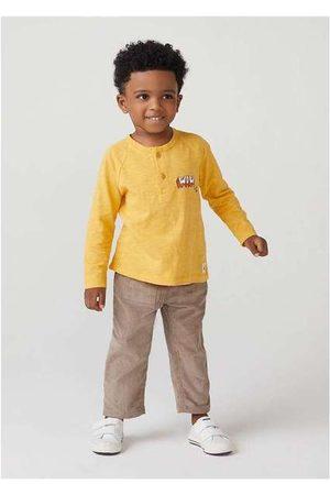 Hering Camiseta Infantil Menino Manga Longa com Estampa T