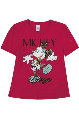 Disney Blusa em Meia Malha com Estampa