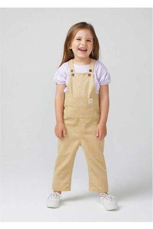 Hering Jardineira Infantil Unissex em Veludo Cotelê Toddl