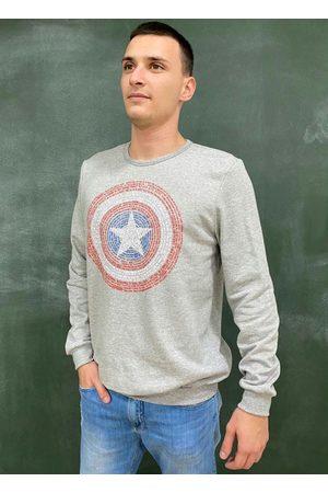 Marvel Casaco Masculino Adulto Estampado