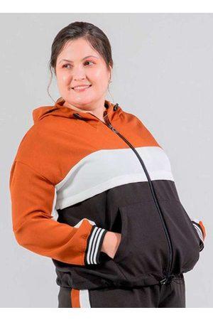 Miss Taylor Jaqueta Tricolor Almaria Plus Size com