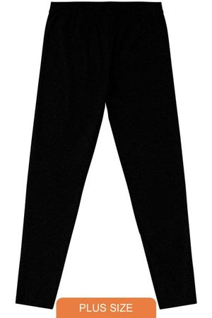 Rovitex Plus Size Mulher Calça Legging - Legging Feminina Básica