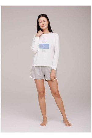 Hering Shorts Pijama Feminino em Moletinho