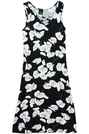 Malwee Mulher Vestido Estampado - Vestido Floral Evasê