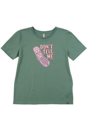 Cativa Teens Menina Camiseta - T-Shirt em Meia Malha Estampada