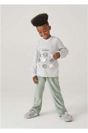 Hering Pijama Infantil Menino em Fleece Interativo