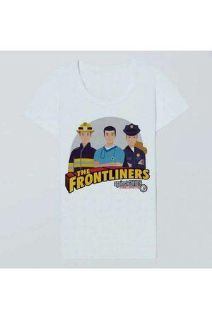 Reserva Camiseta Fem The Frontliners 3 Casual Bran