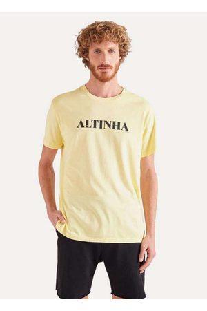Reserva Homem Camisolas de Manga Curta - Camiseta Pf Estampada Altinha