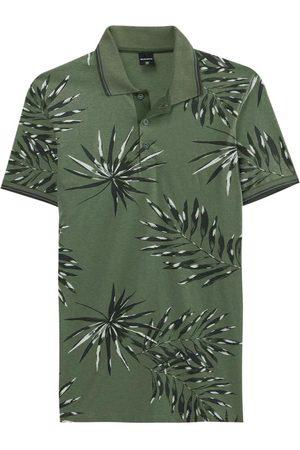Malwee Homem Camisa Formal - Camisa Musgo Polo Tropical Slim