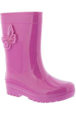 LUELUA Menina Galocha - Galocha Borboleta Glitter Pink Pink