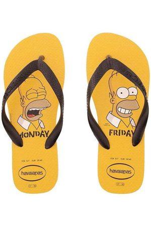 Havaianas Chinelo Simpsons Amarelo