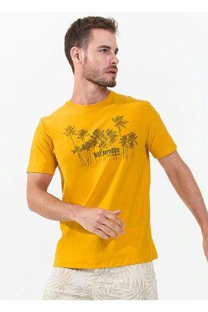 Rovitex Camisa Masculina Estampa Beach