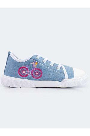 PAMPILI Tênis Infantil Lyly Jeans Jeans