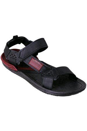 Perfecta Sandália Masculina Preta com Velcro