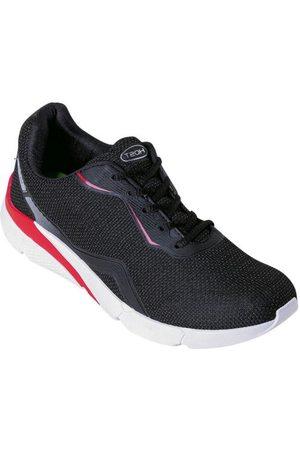 Perfecta Homem Sapatos Esporte - Tênis Preta em Tecido