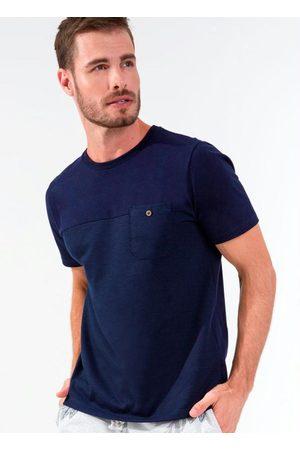 Rovitex Camiseta Masculina com Bolso