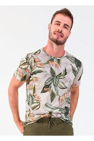 Rovitex Camisa Masculina Folhada